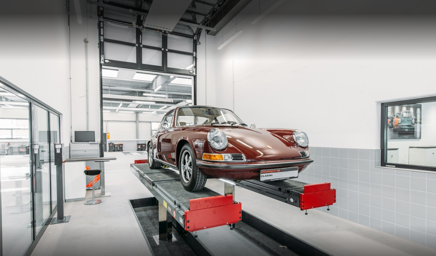 Sabiana for Porsche zentrum boblingen